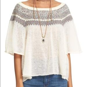 Free People Loch Lomand Off Shoulder